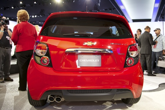 2013 Chevrolet Sonic RS: Detroit Auto Show featured image large thumb4