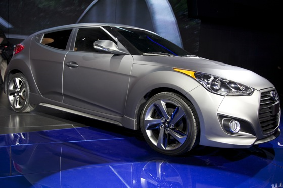 2013 Hyundai Veloster Turbo: Detroit Auto Show featured image large thumb0