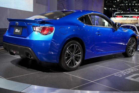 2013 Subaru BRZ: Detroit Auto Show featured image large thumb2