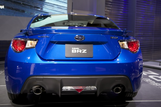 2013 Subaru BRZ: Detroit Auto Show featured image large thumb3