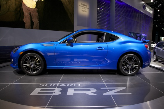 2013 Subaru BRZ: Detroit Auto Show featured image large thumb6