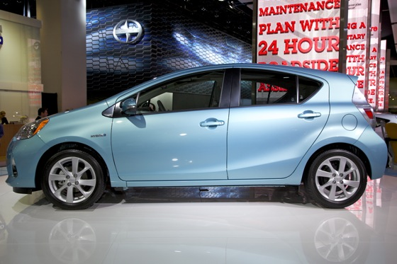 2012 Toyota Prius c: Detroit Auto Show featured image large thumb0