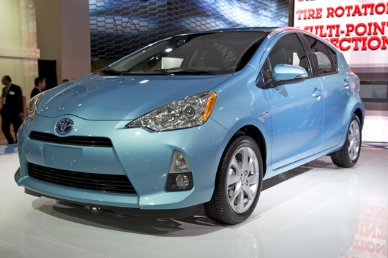 2012 Toyota Prius c: Detroit Auto Show featured image large thumb1