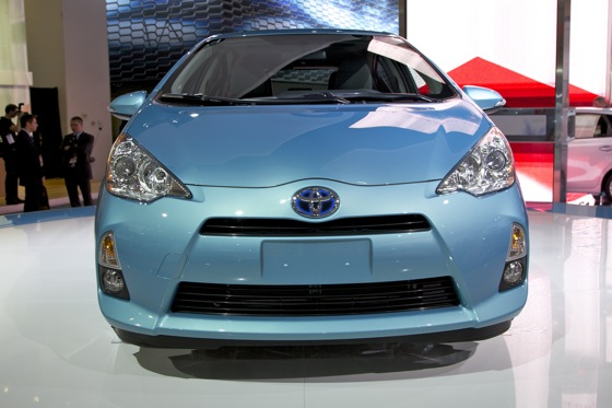 2012 Toyota Prius c: Detroit Auto Show featured image large thumb2