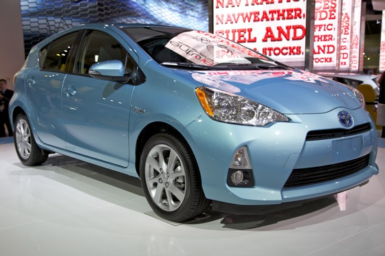 2012 Toyota Prius c: Detroit Auto Show featured image large thumb3