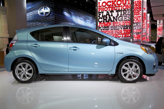 2012 Toyota Prius c: Detroit Auto Show featured image large thumb4