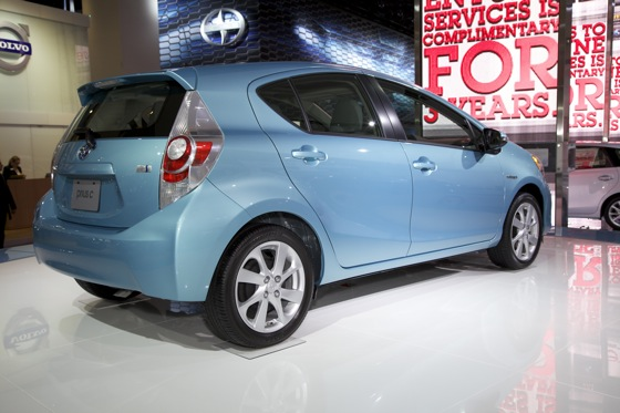 2012 Toyota Prius c: Detroit Auto Show featured image large thumb5
