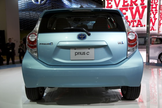 2012 Toyota Prius c: Detroit Auto Show featured image large thumb6