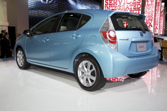 2012 Toyota Prius c: Detroit Auto Show featured image large thumb7