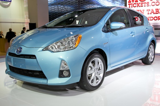 2012 Toyota Prius c: Detroit Auto Show featured image large thumb8