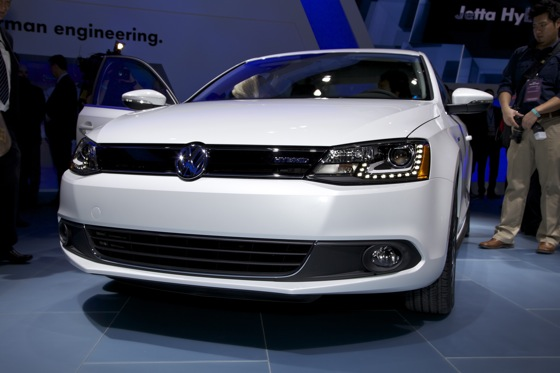 2013 Volkswagen Jetta Hybrid: Detroit Auto Show featured image large thumb4