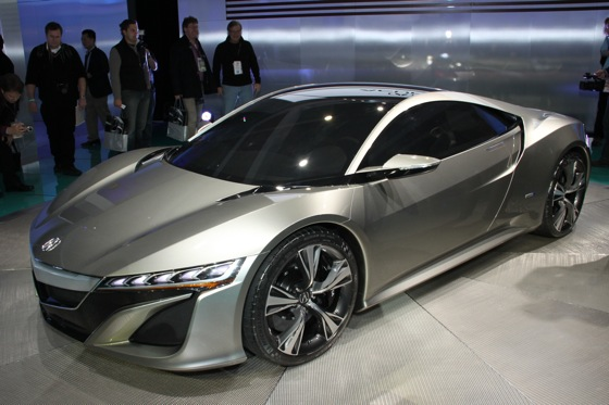 Acura NSX Concept: Detroit Auto Show featured image large thumb0