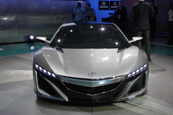 Acura NSX Concept: Detroit Auto Show featured image large thumb1