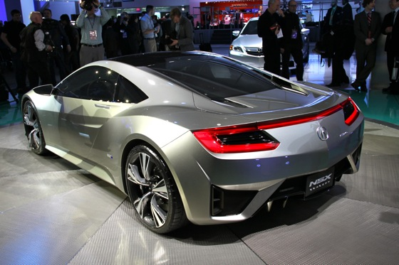 Acura NSX Concept: Detroit Auto Show featured image large thumb3
