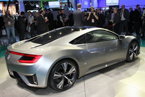 Acura NSX Concept: Detroit Auto Show featured image large thumb4
