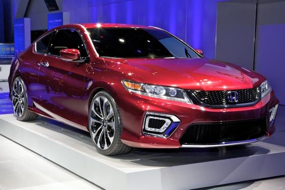 2013 Honda Accord Coupe Concept: Detroit Auto Show
