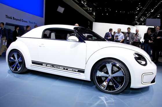 Volkswagen E-Bugster Concept: Detroit Auto Show featured image large thumb1