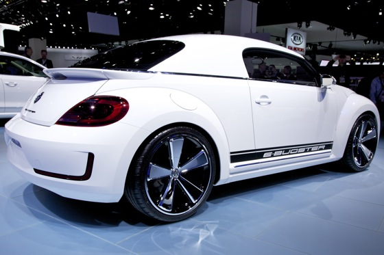 Volkswagen E-Bugster Concept: Detroit Auto Show featured image large thumb4