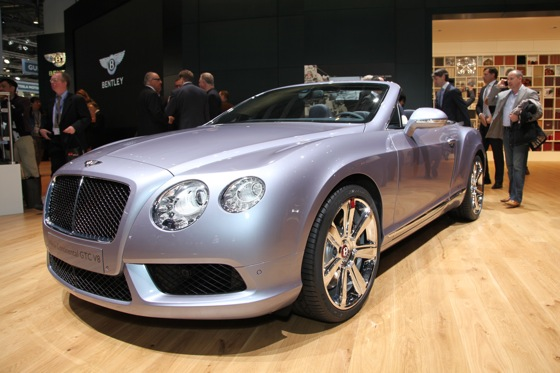 2013 Bentley Continental GTC V8: Geneva Auto Show featured image large thumb0
