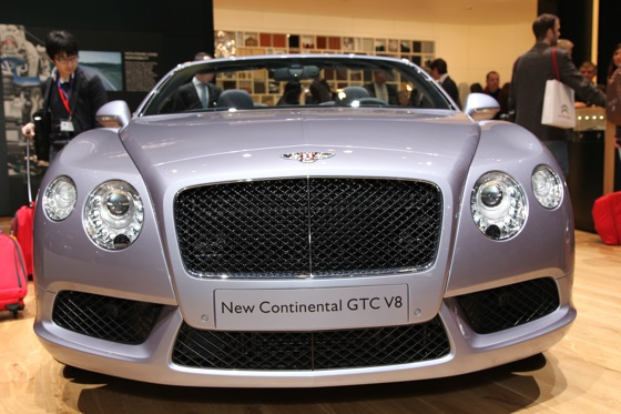 2013 Bentley Continental GTC V8: Geneva Auto Show featured image large thumb1