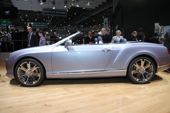 2013 Bentley Continental GTC V8: Geneva Auto Show featured image large thumb2