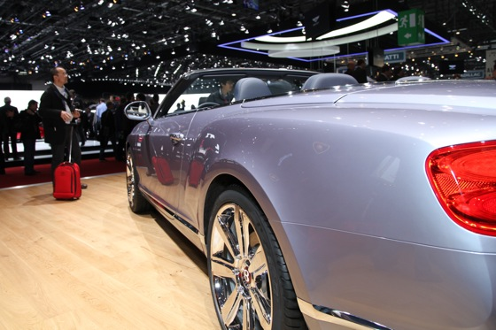 2013 Bentley Continental GTC V8: Geneva Auto Show featured image large thumb3