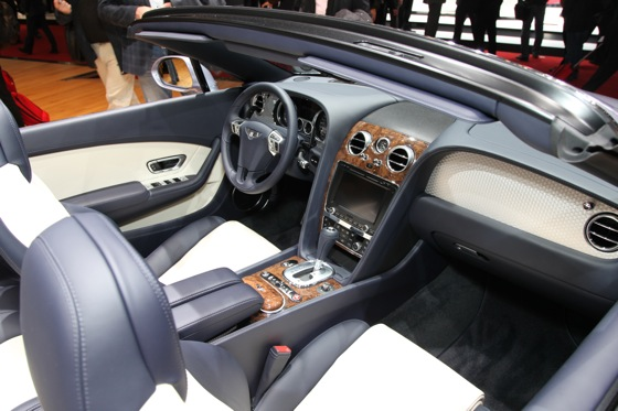 2013 Bentley Continental GTC V8: Geneva Auto Show featured image large thumb4