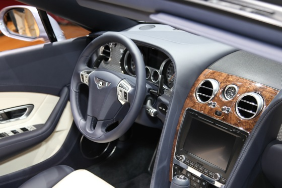 2013 Bentley Continental GTC V8: Geneva Auto Show featured image large thumb5