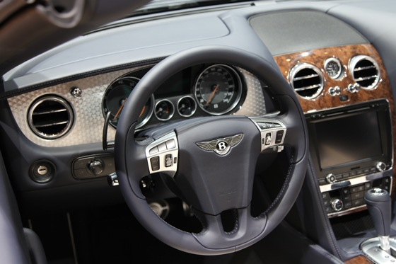 2013 Bentley Continental GTC V8: Geneva Auto Show featured image large thumb7