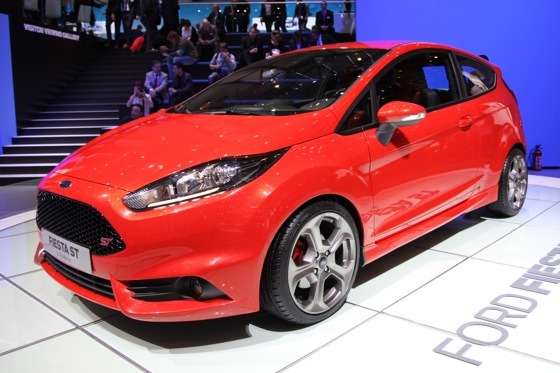 2013 Ford Fiesta ST: Geneva Auto Show featured image large thumb0