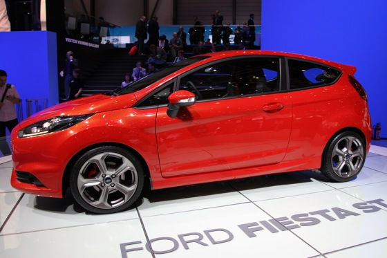 2013 Ford Fiesta ST: Geneva Auto Show featured image large thumb1