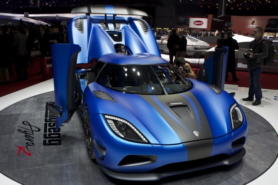 Koenigsegg Agera R: Geneva Auto Show featured image large thumb0