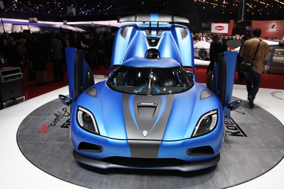 Koenigsegg Agera R: Geneva Auto Show featured image large thumb2