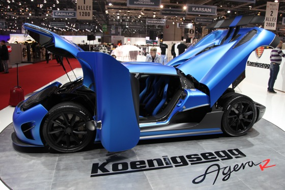 Koenigsegg Agera R: Geneva Auto Show featured image large thumb6