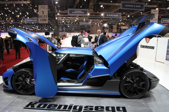 Koenigsegg Agera R: Geneva Auto Show featured image large thumb8