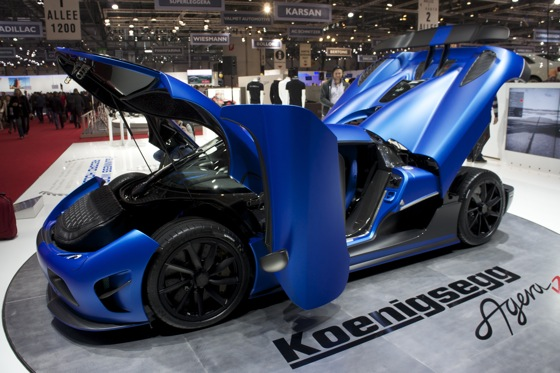 Koenigsegg Agera R: Geneva Auto Show featured image large thumb9