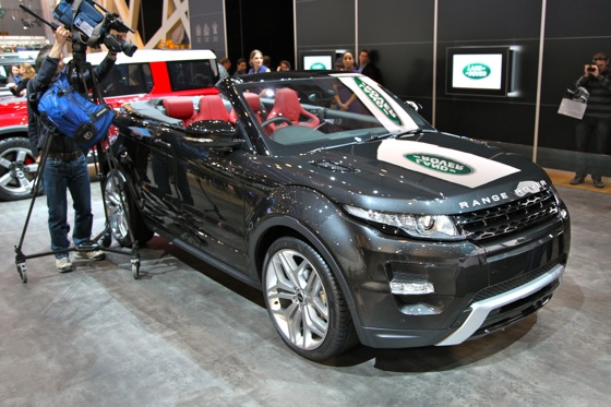 Land Rover Range Rover Evoque Convertible: Geneva Auto Show featured image large thumb0