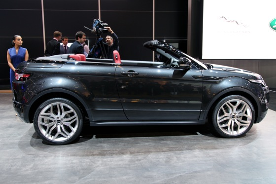 Land Rover Range Rover Evoque Convertible: Geneva Auto Show featured image large thumb1