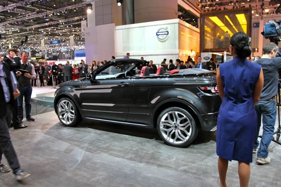 Land Rover Range Rover Evoque Convertible: Geneva Auto Show featured image large thumb3