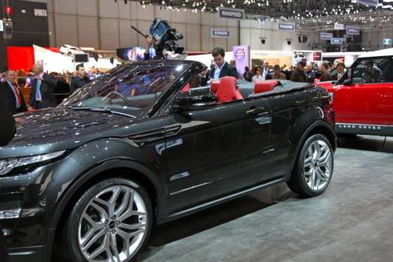 Land Rover Range Rover Evoque Convertible: Geneva Auto Show featured image large thumb4