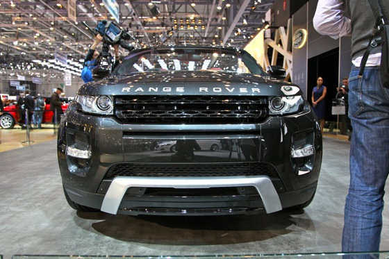 Land Rover Range Rover Evoque Convertible: Geneva Auto Show featured image large thumb5
