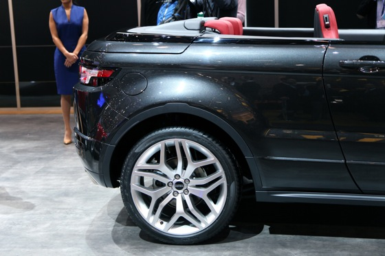 Land Rover Range Rover Evoque Convertible: Geneva Auto Show featured image large thumb7