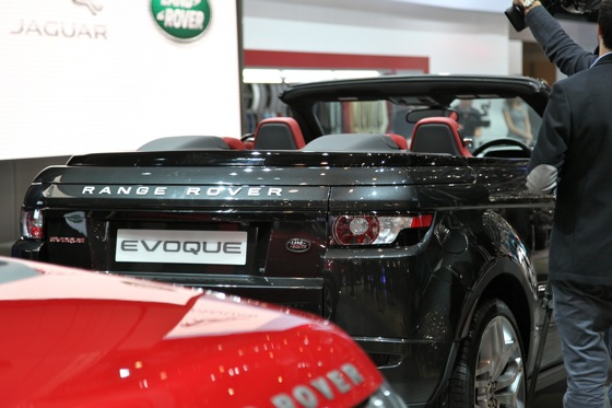 Land Rover Range Rover Evoque Convertible: Geneva Auto Show featured image large thumb8