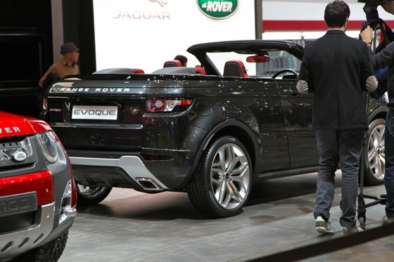Land Rover Range Rover Evoque Convertible: Geneva Auto Show featured image large thumb9