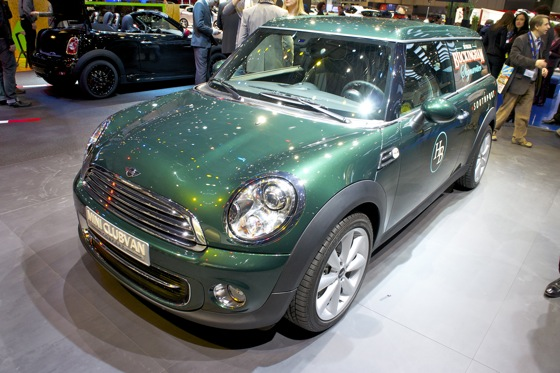 Mini Clubvan Concept: Geneva Auto Show featured image large thumb2