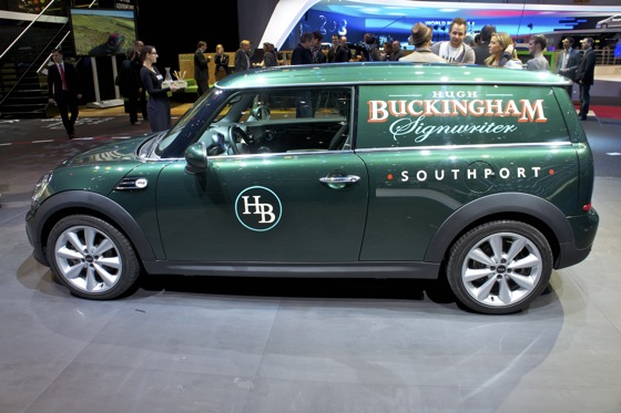 Mini Clubvan Concept: Geneva Auto Show featured image large thumb3