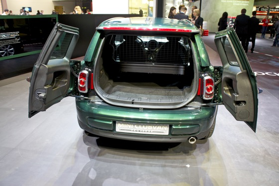 Mini Clubvan Concept: Geneva Auto Show featured image large thumb6