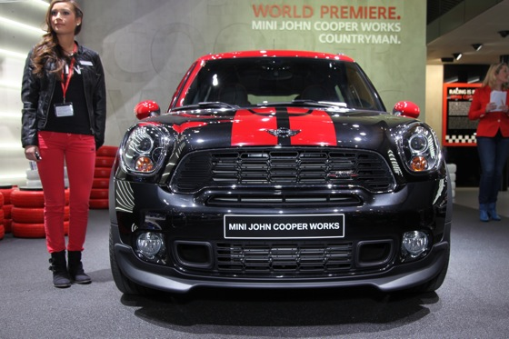 2013 Mini Countryman JCW: Geneva Auto Show featured image large thumb1