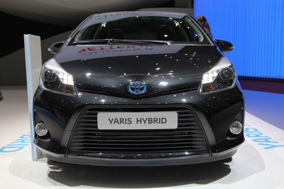 Toyota Yaris Hybrid: Geneva Auto Show featured image large thumb1