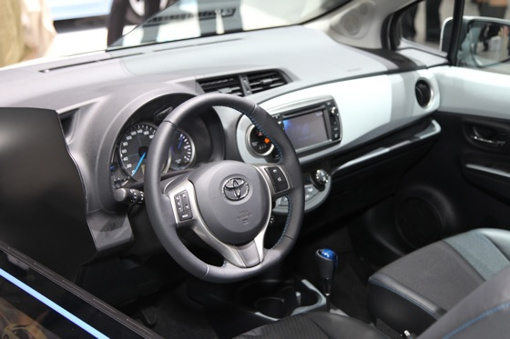 Toyota Yaris Hybrid: Geneva Auto Show featured image large thumb6
